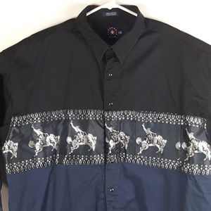 Panhandle Slim Mens 2XL Cotton Shirt Long Sleeve